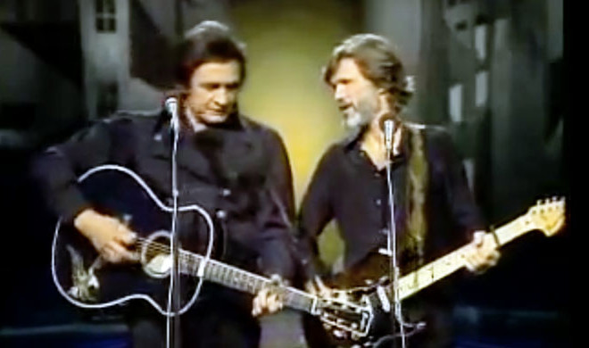 Watch Cash, Kristofferson Perform 'Sunday Morning Coming Down'