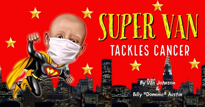 "NFL Star and Texas Boy Team Up in ""Super Van Tackles Cancer"""