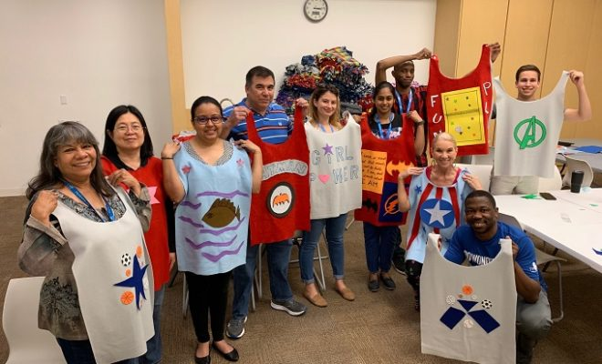 Creating Superheroes, One Cape at a Time, for Children in Need