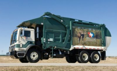 Texas Disposal Systems Truck