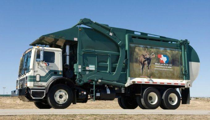 Texas Disposal Systems Truck