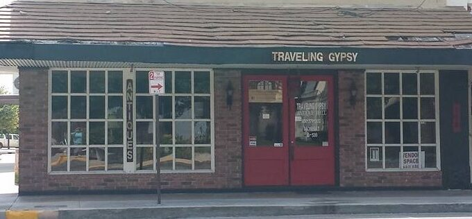 Traveling Gypsy Antique Mall store front