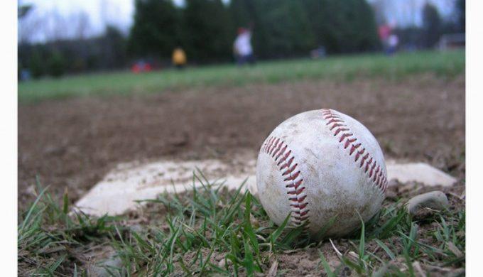 Baseball at park