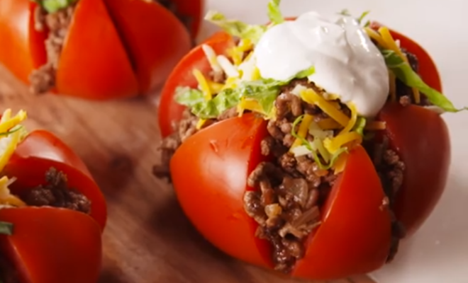 Taco Tomatoes are All You've Ever Craved in Low-Carb Form