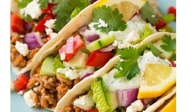 Taco Recipes Greek Tacos