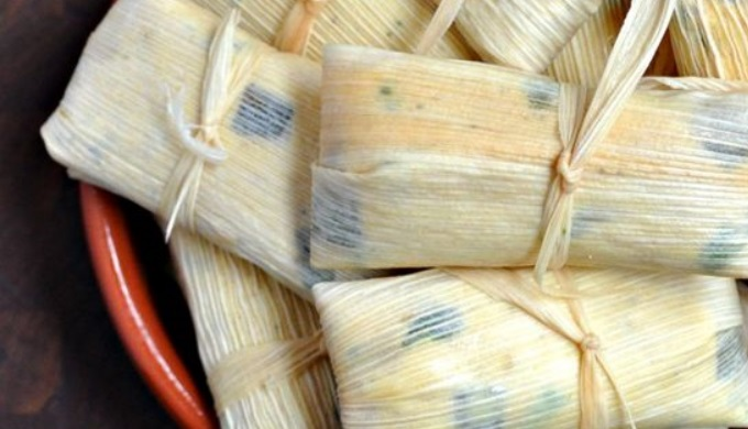 Tamale recipes Monterey jack and green chile tamales