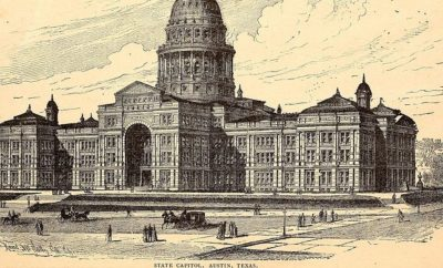 Texas Capital in Austin in 1890