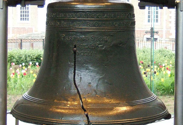 9. On July 8, 1776, the Liberty Bell was rung to celebrate the first public reading of the Declaration of Independence by Colonel John Nixon in Philadelphia. What was the bells original name?