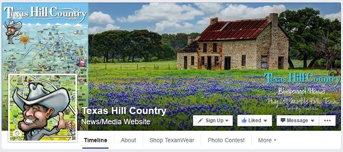 Texas Hill Country Facebook Page
