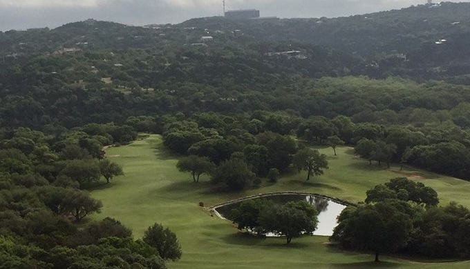 Texas Hill Country Golf Courses Overlooking the Omni Barton Creek Resort