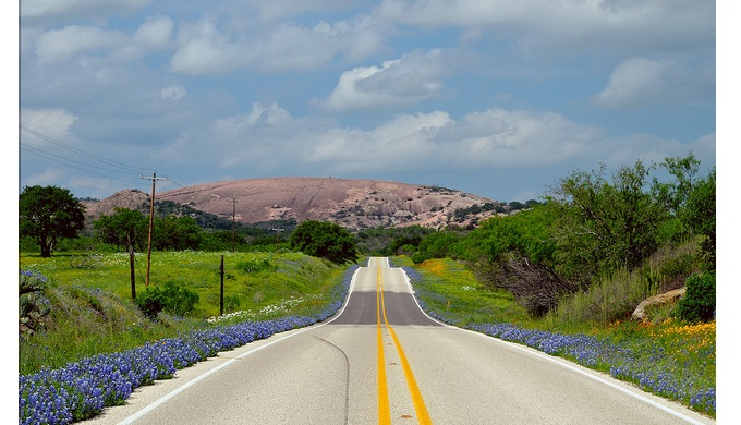 Texas Hill Country pictures Enchanted Rock