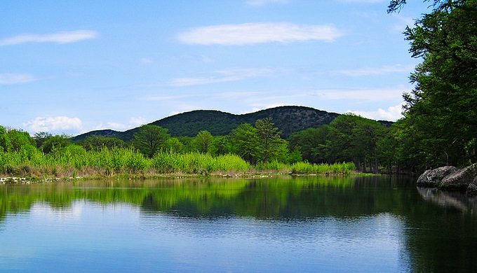 Texas Hill Country pictures Frio River