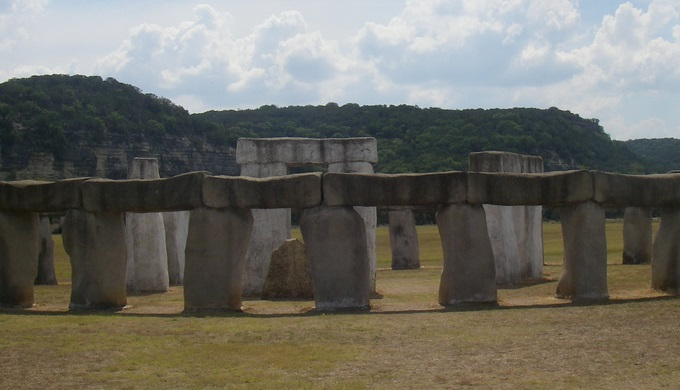 Texas Hill Country pictures Texas Stonehenge