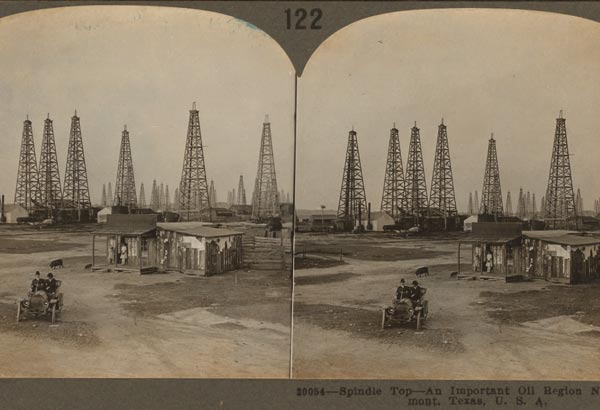 1. On January 10th, Wildcatters found oil at Spindletop near Beaumont.