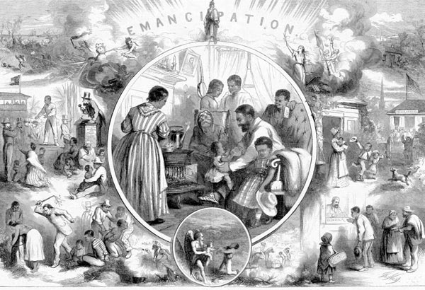 2. The announcement of the abolition of slavery in Texas on June 19th, including the emancipation of African-American slaves throughout the Confederate South.