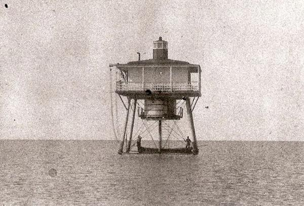 "10. The original construction of this lighthouse just off the coast of Smith Point was in 1854. A replacement was constructed and manned in 1900 to accommodate changes to the shipping channel, a shift in the sandbar in which both lighthouses are named after. The replacement lighthouse carried the same name but ""Cut"" was added. Due to this shift, the government had to dredge another channel, cutting through the sandbar."