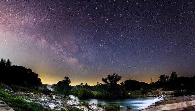 Texas Night Sky Festival Evening Sky