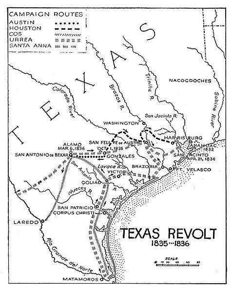 Texas Revolution Campaigns