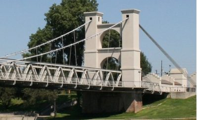 Texas bridges such as the Waco suspension bridge are distinctive in their design
