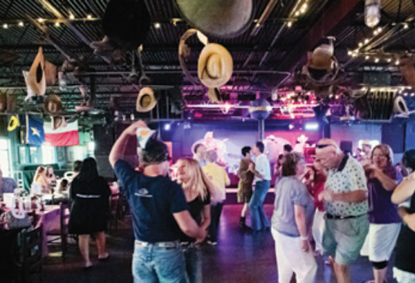 "What's the world largest ""Honky Tonk"" located in the Ft. Worth Stockyards called?"