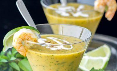 Cold Soup Recipes Thai Gazpacho