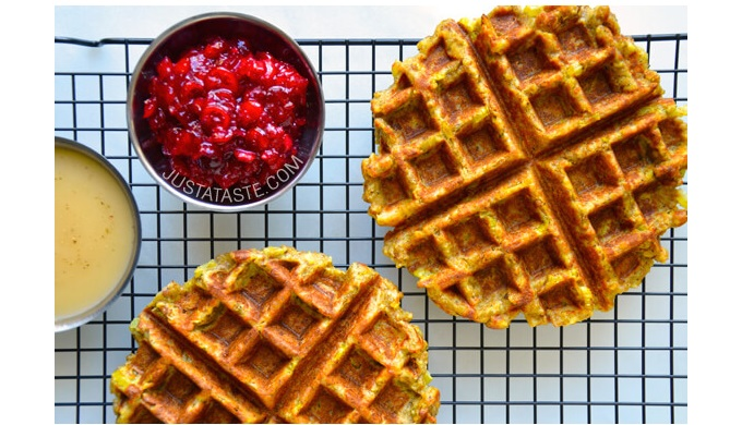 Thanksgiving Leftover Recipes Stuffing waffles