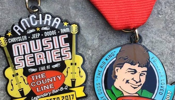 The County Line's Free Music Series Fiesta Medals