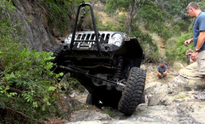 The Crawler Crew Off-Road, Texas Hill Country