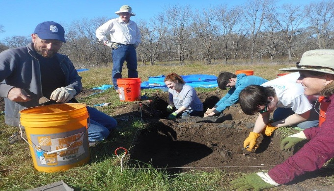 The Gault School focuses on archaeology of Clovis culture peoples in Texas