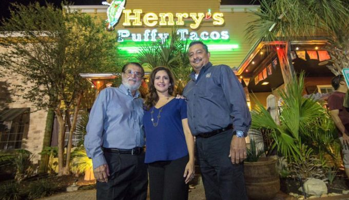 The founder of Henry's Puffy Tacos created the puffy taco in the 1950s