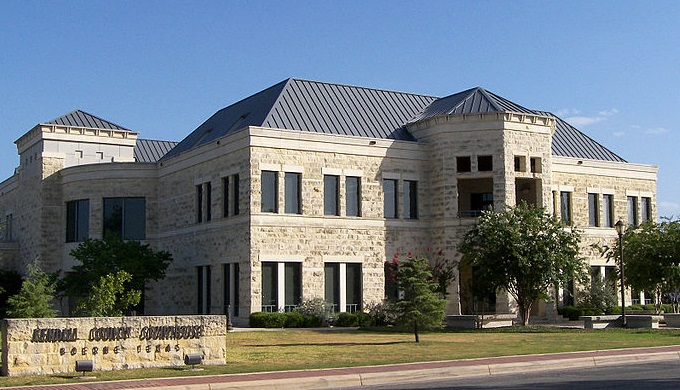 The modern history of Boerne includes the new Kendell County courthouse built in 1998.