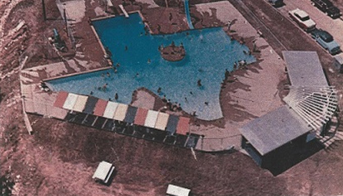 This Texas-Shaped Pool May Become a Historical Landmark