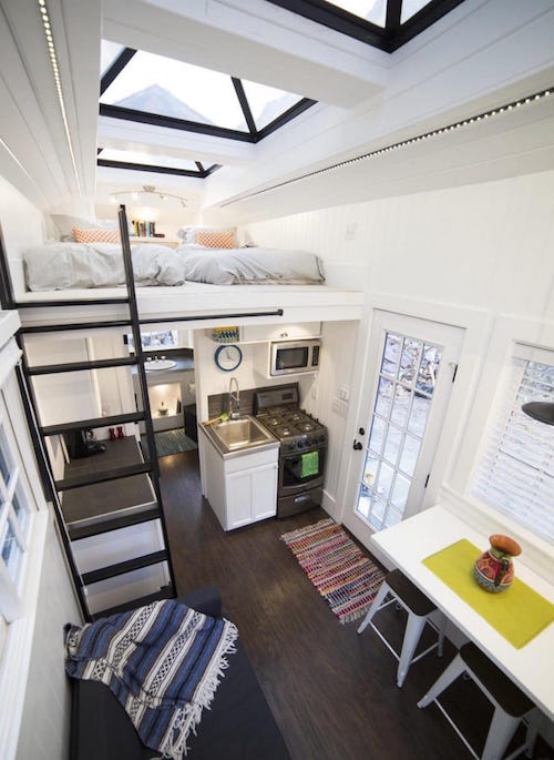Tiny Home Designs: This Tiny House On Wheels Is Impossibly Dreamy