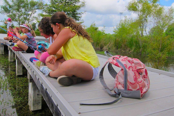 Tori Bellos - Cibolo Nature Center-Marsh Fishing