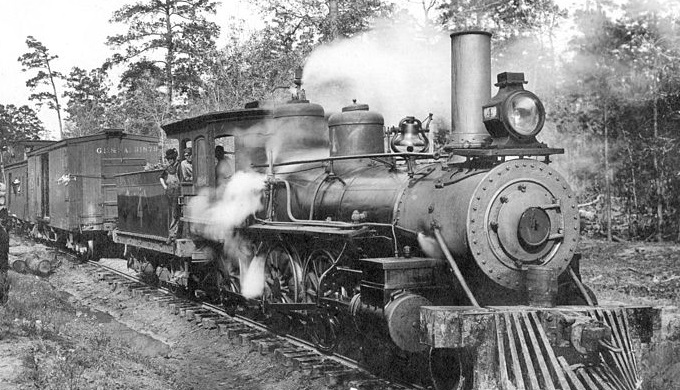 Trains eventually supplanted steamboats in Texas