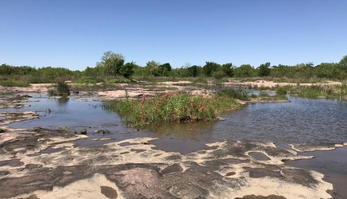 Scotts Slab on the Llano