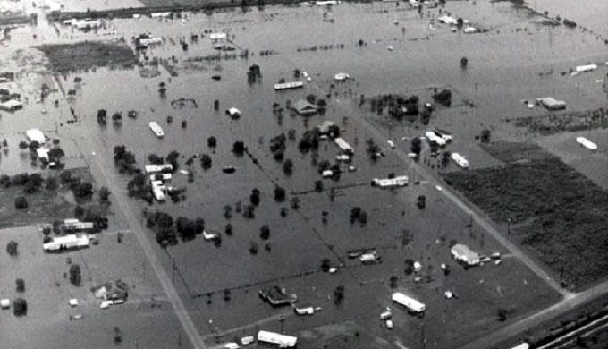 National Record for Rainfall in a 24-Hour Period Still Held by Alvin, Texas