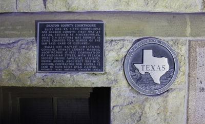 contest Texas landmark