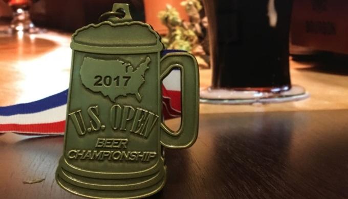 U S Open Beer Championship Medal
