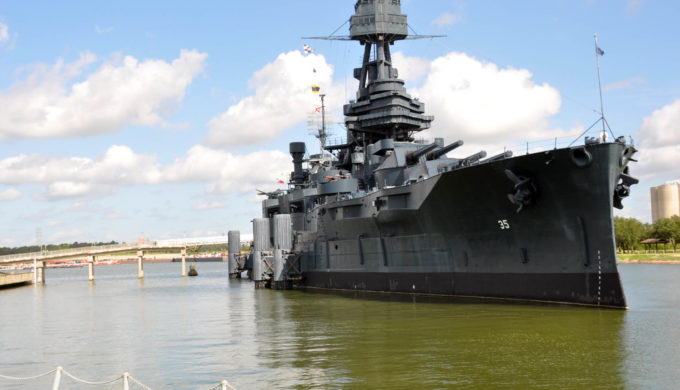 Battleship Texas Presently Closed to the Public While TPWD Repairs Leaks