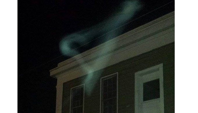 Unexplained Phenomenon Outside Magnolia Hotel