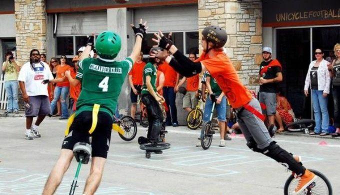 Unicycle Football