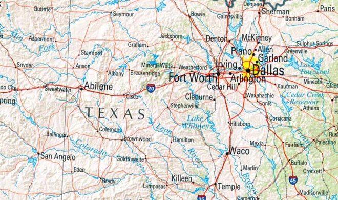 Unique Town Names of Texas