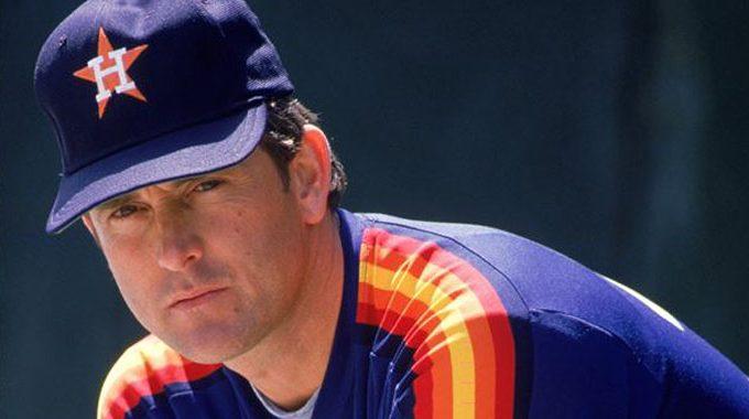 Nolan Ryan with the Houston Astros