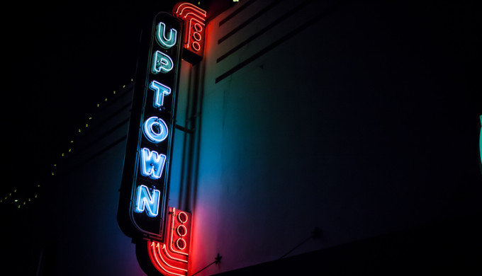Uptown Sound Studio Sign