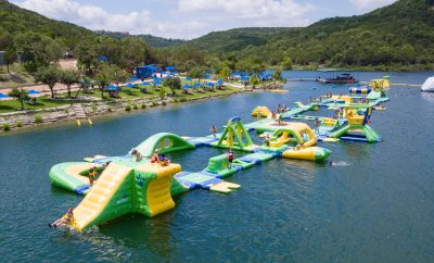 Splash Into Waterloo Adventures! This Floating Water Park Beats the Heat