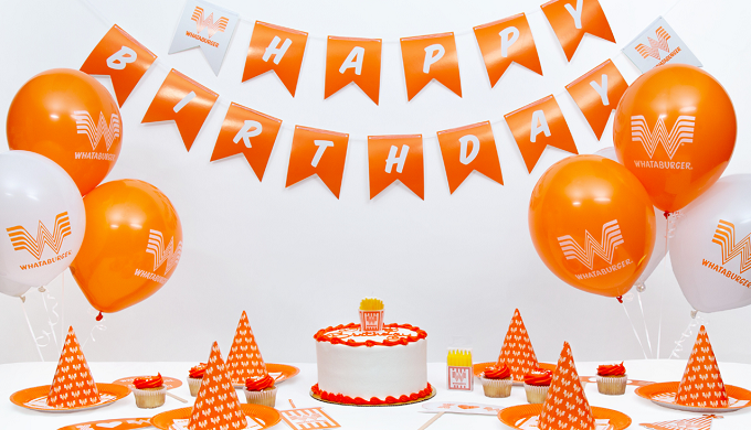 Whataburger Birthday Bundle Makes Other Parties Seem So Last Year