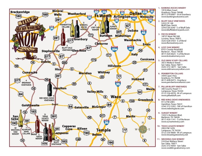 WOW Map - Texas Hill Country Dale Texas Map on