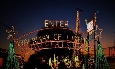 Marble Falls activities include Walkway of Lights