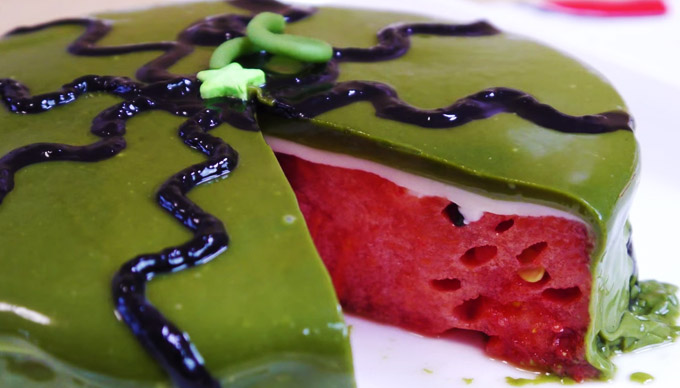 Watch an Ordinary Watermelon Turn Into the Most Delicious Cake